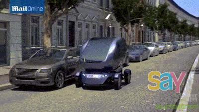 工程師發明可橫向移動汽車工程師發明可橫向移動汽車