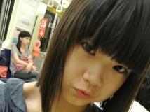 台北捷運拍到32F低胸爆乳妹~甜馨[3P]